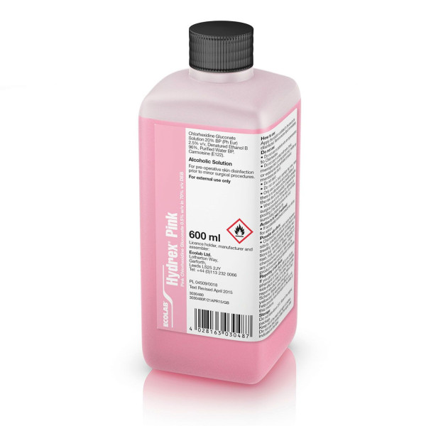 Hydrex Pink Alcohol Solution Spray Refill