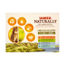 IAMS Naturally Adult Cat Land & Sea