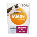 IAMS for Vitality Senior Cat Food With Ocean Fish Expiry Date November 2019