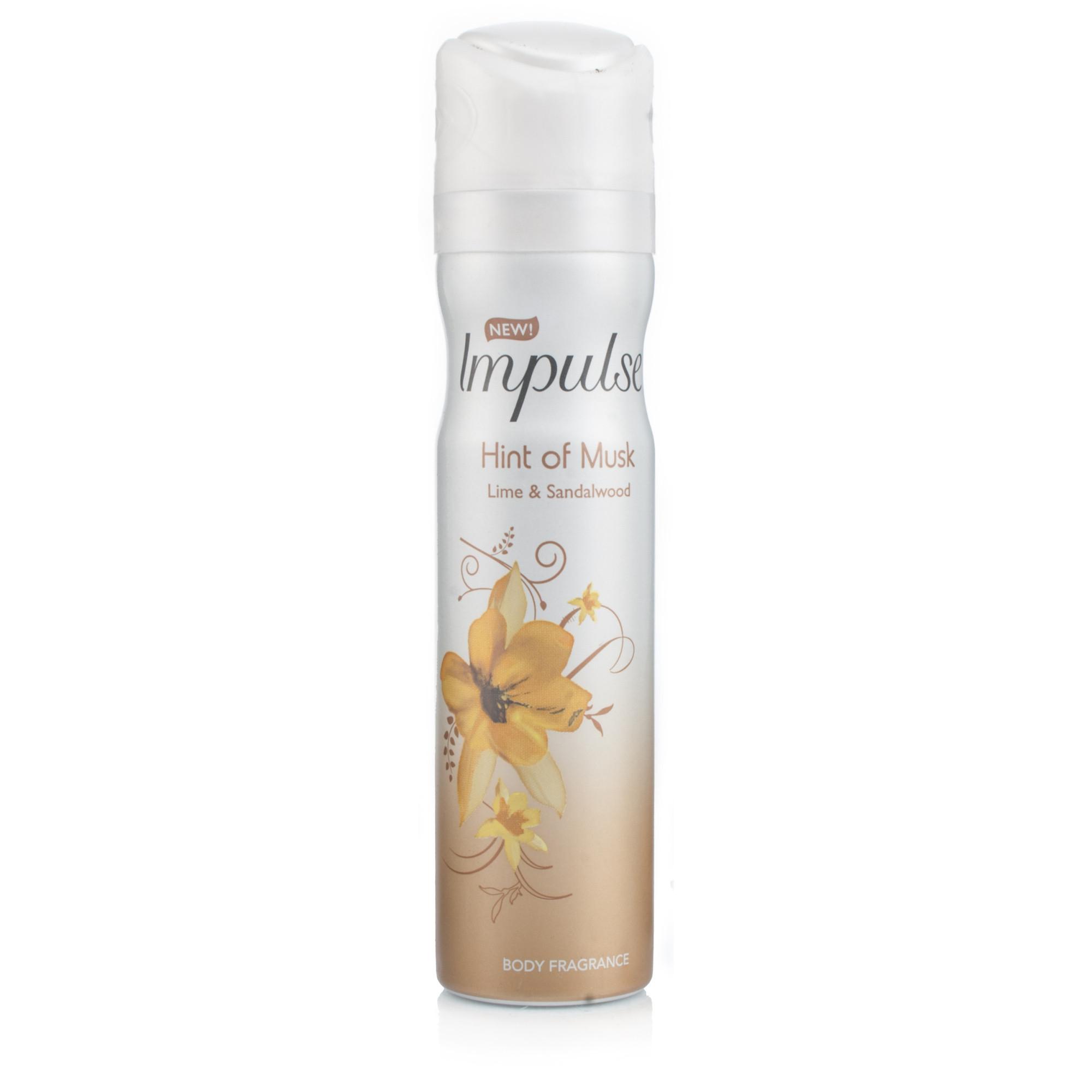 Impulse Body Spray - Hint Of Musk