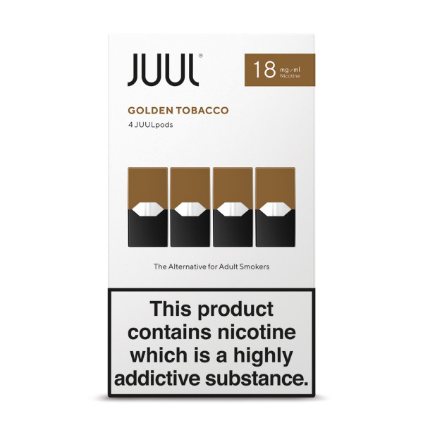 JUUL Pods Golden Tobacco 18mg