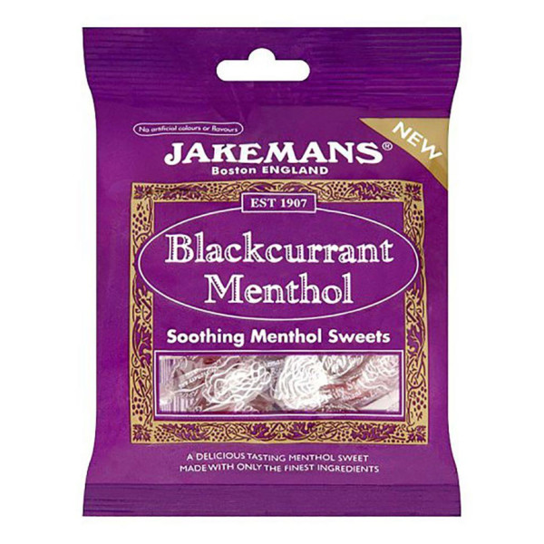 Jakemans Blackcurrant Menthol Sweets