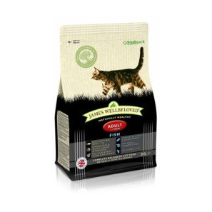 James Wellbeloved Cat Adult Kibble Fish and Rice