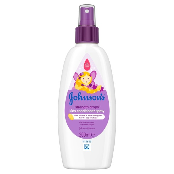 Johnsons Strength Drops Kids Conditioner Spray