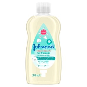 Johnsons Baby Cotton Touch Oil 300ml