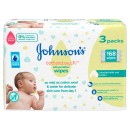 Johnsons Baby Cotton Touch Wipes 56 Pieces 3 Pack