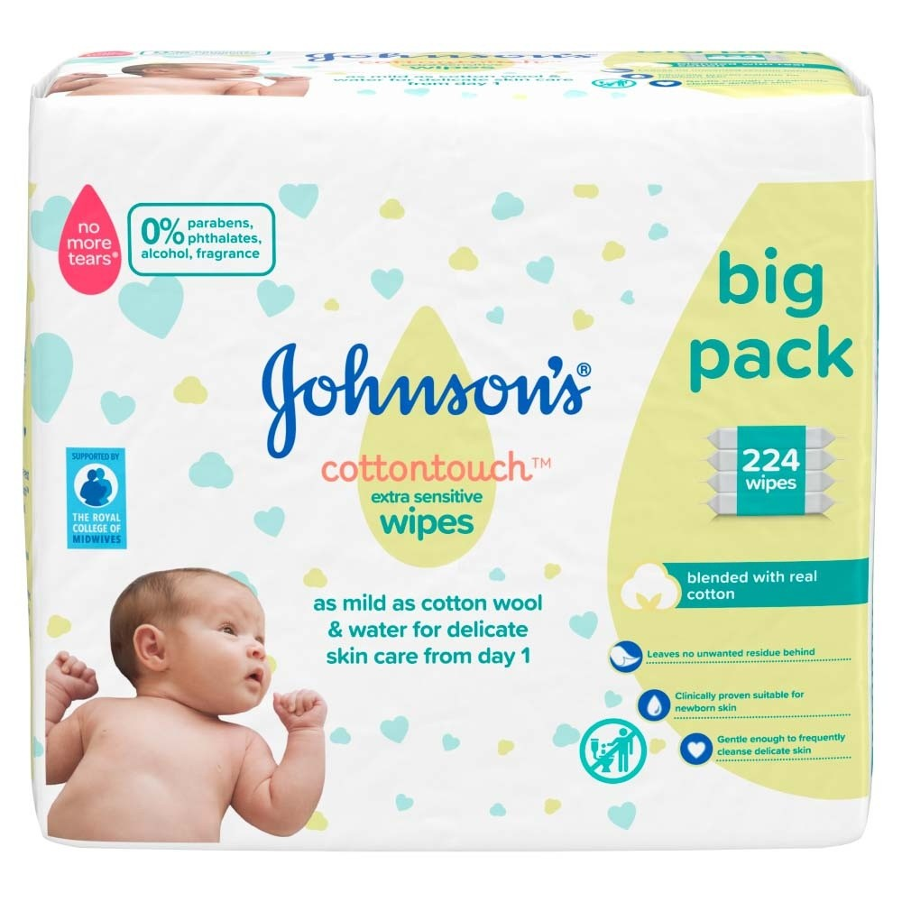 Click to view product details and reviews for Johnsons Baby Cotton Touch Wipes 56 Pieces 4 Pack.