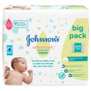 Johnsons Baby Cotton Touch Wipes 56 Pieces 4 Pack