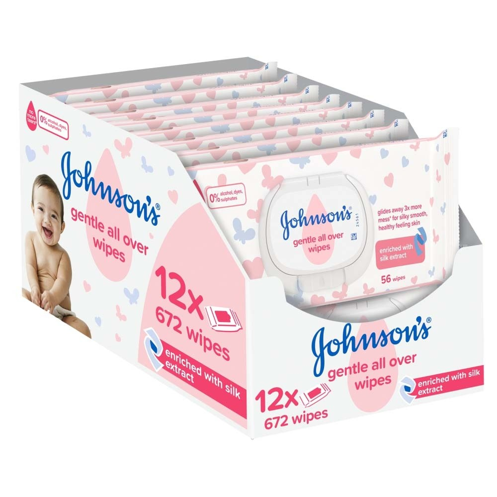 Click to view product details and reviews for Johnsons Baby Gentle All Over 672 Wipes.