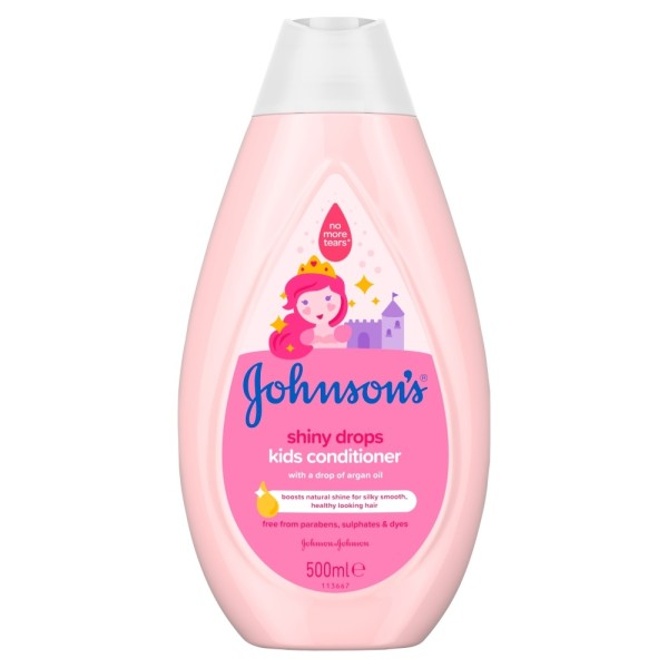 Johnsons Baby Kids Conditioner Shiny Drops 500ml
