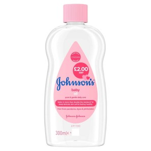 Johnsons Baby Oil Regular 300ml