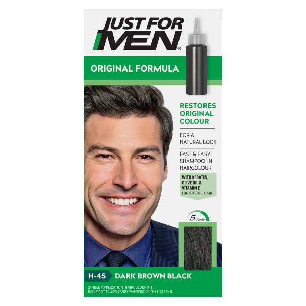 Just For Men Colour Natural Dark Brown-Black