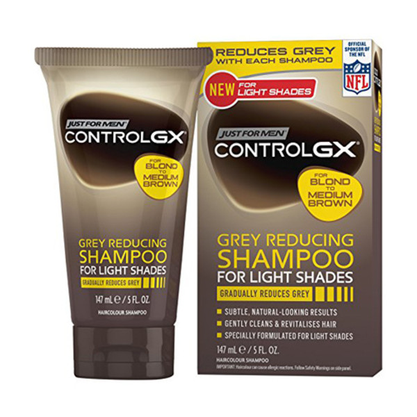 Just For Men Control GX Shampoo for Lighter Shades