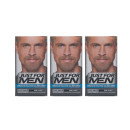 Just For Men Moustache & Beard Brush In Sandy Blond Triple Pack