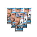 Just For Men Moustache/Beard - Light-Medium Brown - 6 Pack