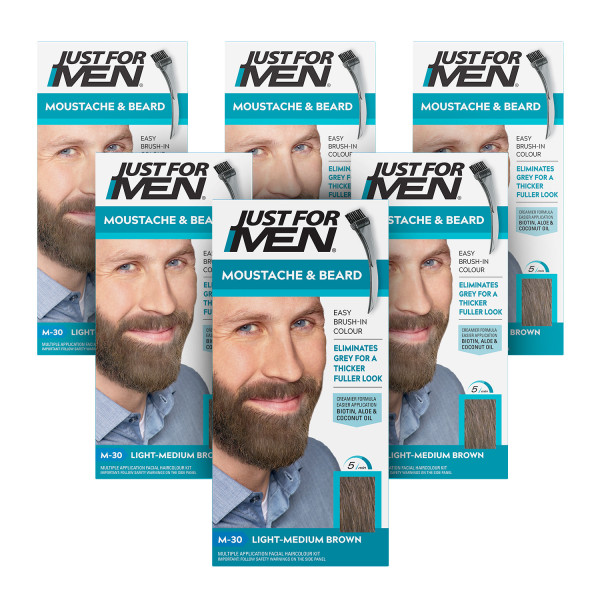 Just For Men Moustache/Beard - Light-Medium Brown