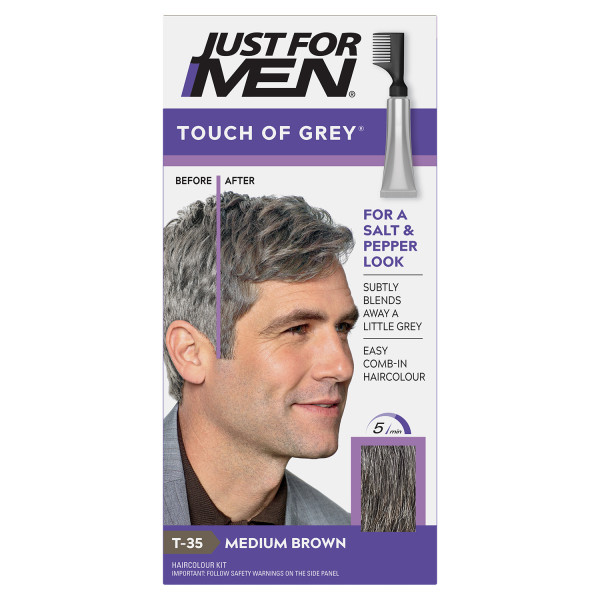 Just For Men Touch Of Grey - Medium Brown-Grey