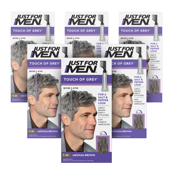 Just For Men Touch Of Grey Med Brown-Grey