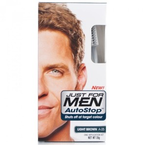 Just for Men Autostop Hair Colour - A-25 Light Brown