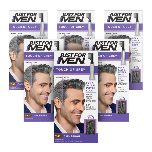 Just for Men Touch Of Grey Dark Brown-Grey