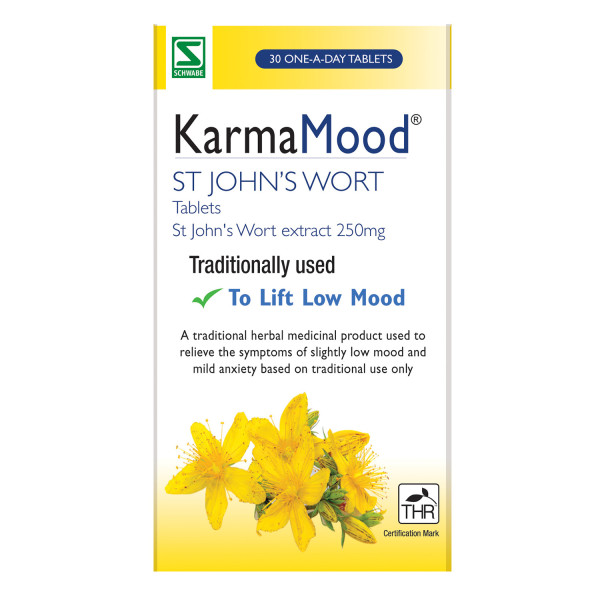 KarmaMood St Johns Wort Extract 250mg Tablets