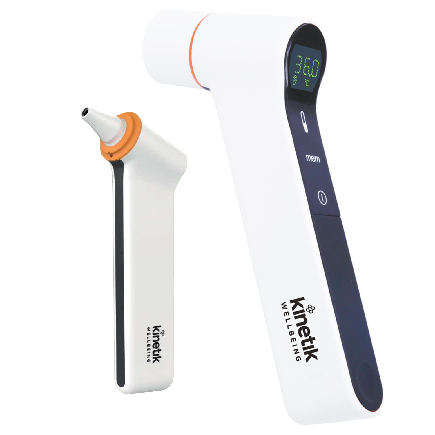 Kinetik Infrared Ear and Forehead Thermometer