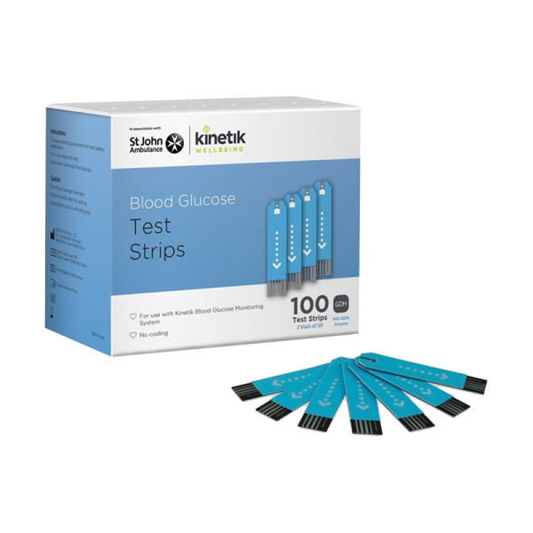 Kinetik Wellbeing Test Strips  Pack of 100