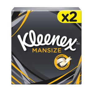 Kleenex Compact Extra Large Twin Pack Tissues