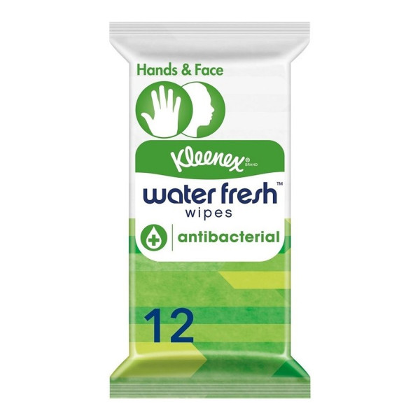 Kleenex Water Fresh Antibacterial Wet Wipes