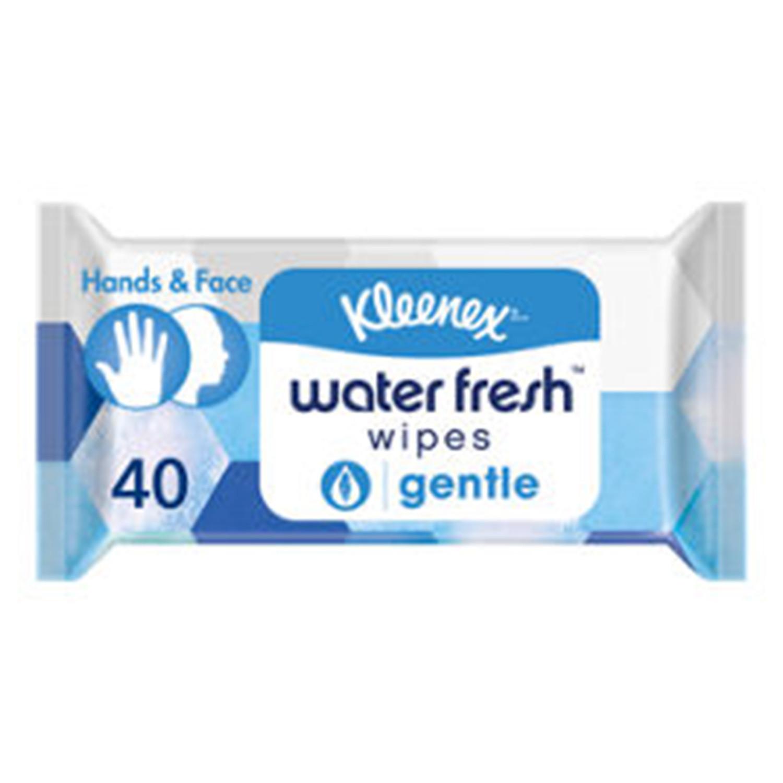 Kleenex Water Fresh Gentle Wet Wipes