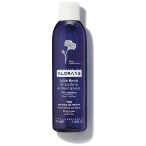 Klorane Eye Make-Up Remover Lotion with Cornflower