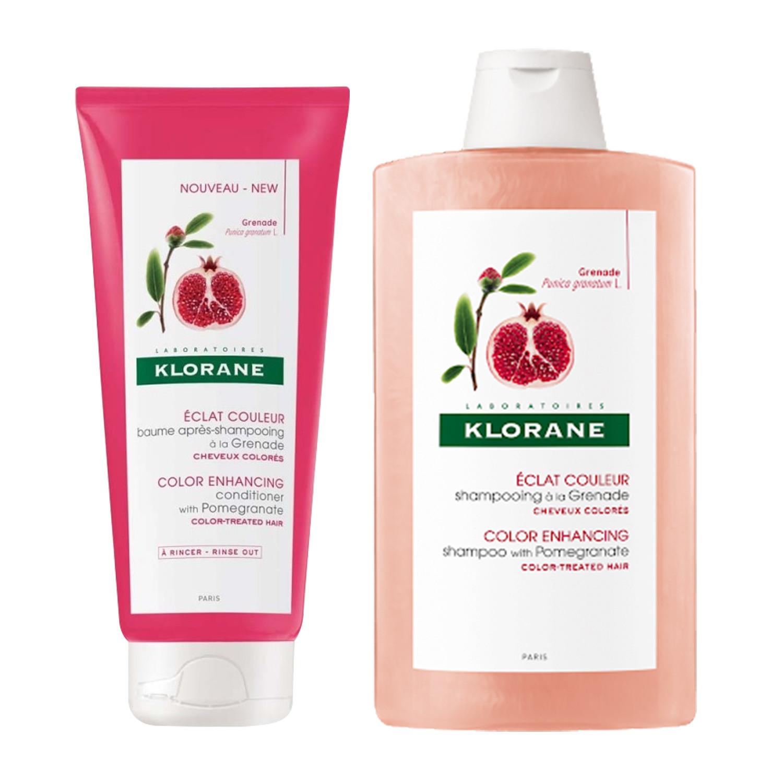 Klorane Pomegranate Haircare Duo