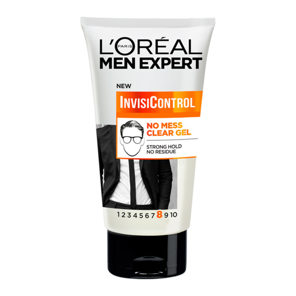 LOreal Men Expert Invisi Control Neat Look Hair Gel with Strong Hold