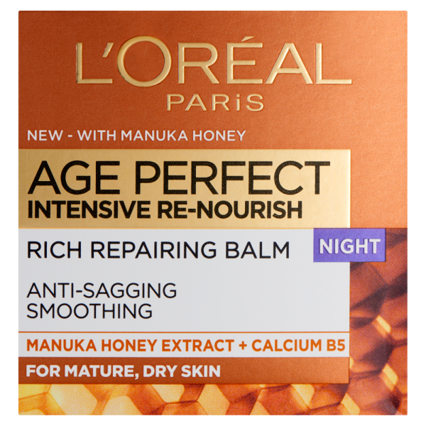 LOreal Paris Age Perfect Re-Nourish Manuka Honey Night Cream