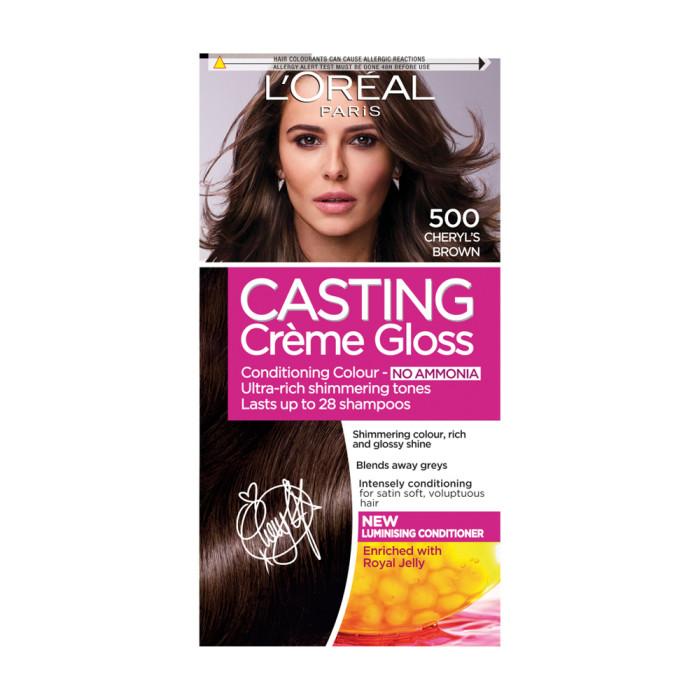 Loreal Casting Creme Gloss 500 Medium Brown Semi Permanent Hair Dye