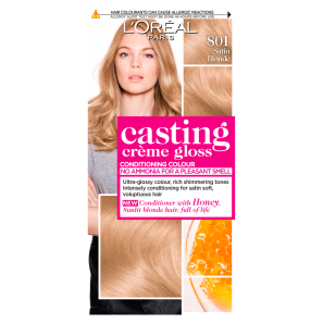 LOreal Paris Casting Creme Gloss 801 Satin Blonde Hair Dye