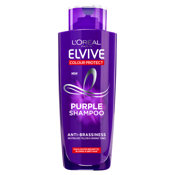 LOreal Paris Elvive Colour Protect Anti-Brassiness Purple Shampoo