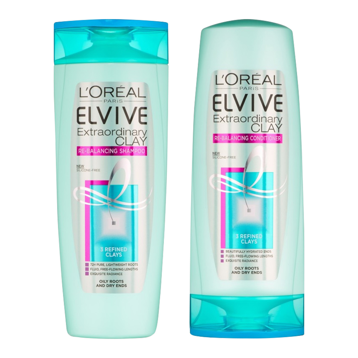 L'Oreal Elvive Extraordinary Clay Haircare Duo