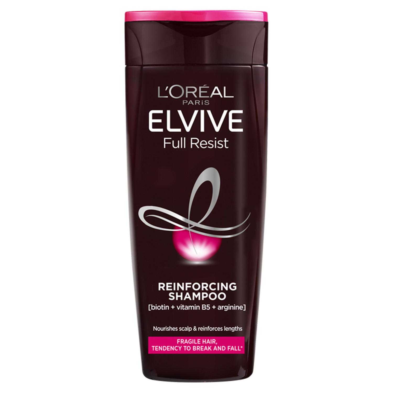 L'Oreal Elvive Full Resist Reinforcing Fragile Hair Shampoo with Biotin For Hair Fall