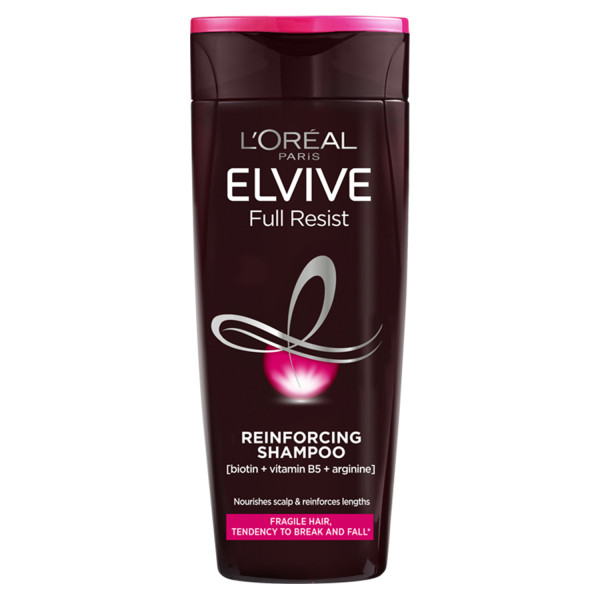 LOreal Elvive Full Resist Reinforcing Fragile Hair Shampoo with Biotin For Hair Fall