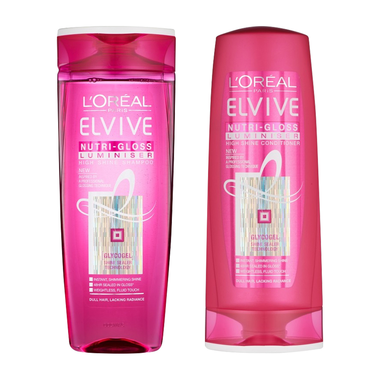 L'Oreal Elvive Nutri-Gloss Haircare Duo