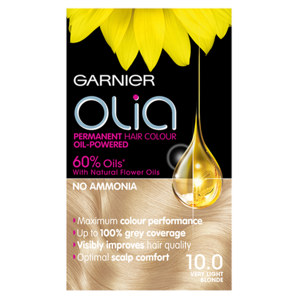 Garnier Olia 10.0 Very Light Blonde Hair Dye