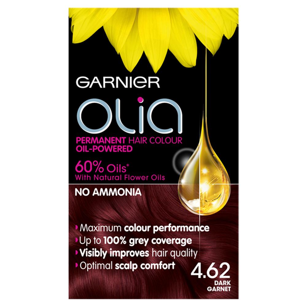 Garnier Olia 4.62 Dark Garnet Hair Dye