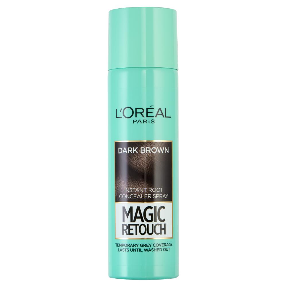 L'Oreal Paris Magic Retouch Instant Root Concealer Spray Dark Brown