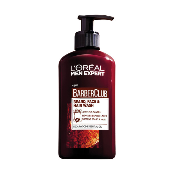 LOreal Paris Men Expert BarberClub Beard, Face & Hair Wash