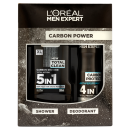 LOreal Paris Men Expert Carbon Power 2 Piece Gift Set For Him