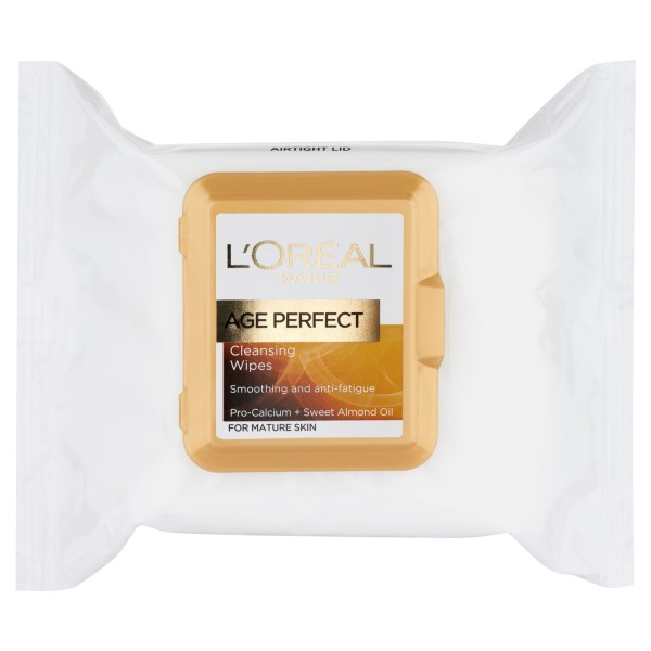 LOreal Paris Age Perfect Cleansing Wipes