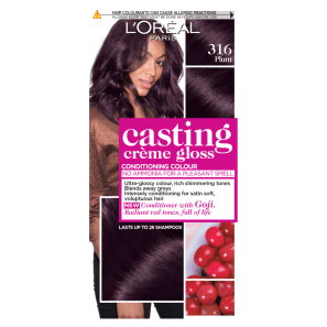 LOreal Paris Casting Creme Gloss 316 Plum Hair Dye