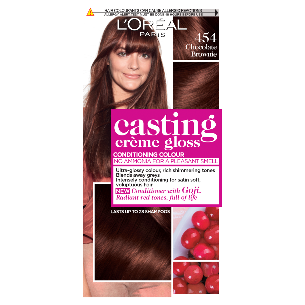 L'Oreal Paris Casting Creme Gloss 454 Chocolate Brownie Hair Dye