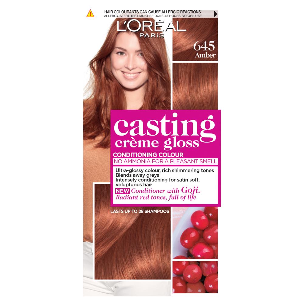 L'Oreal Paris Casting Creme Gloss 645 Amber Hair Dye